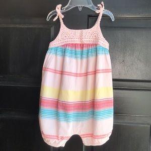 Baby Gap crochet romper for toddler girl 18/24